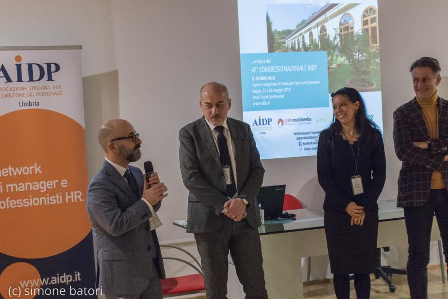 convención AIDP umbria en Aboca