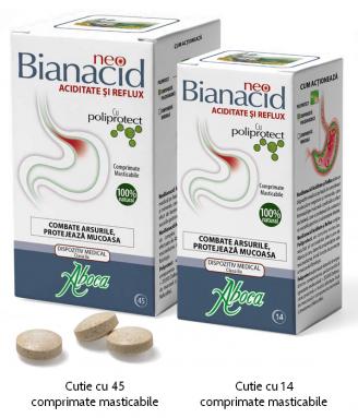 NeoBianacid Aciditate şi Reflux