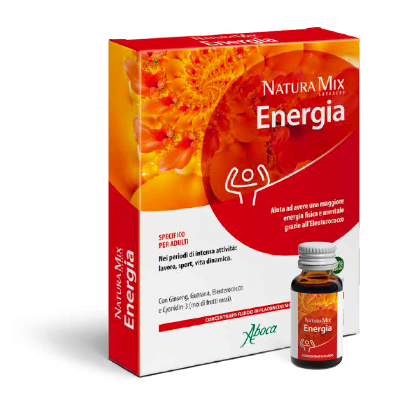 Natura Mix Advanced Energia – Concentrato Fluido Flaconcini