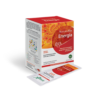 Natura Mix Advanced Energia – Bustine Orosolubili